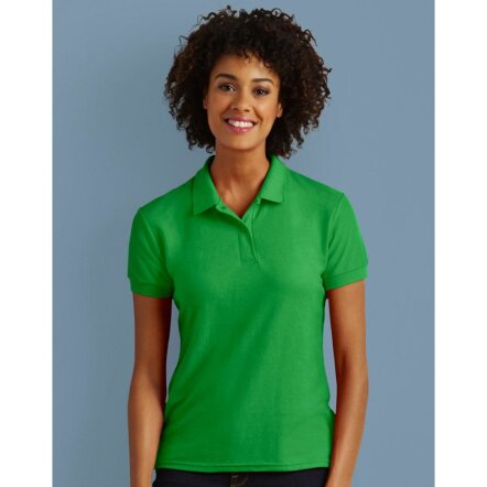 DryBlend® Ladies` Double Piqué Polo