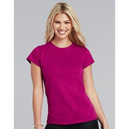 Ladies` Softstyle® Fitted Ring Spun T-Shirt
