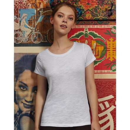Slub T-Shirt Women - TW047