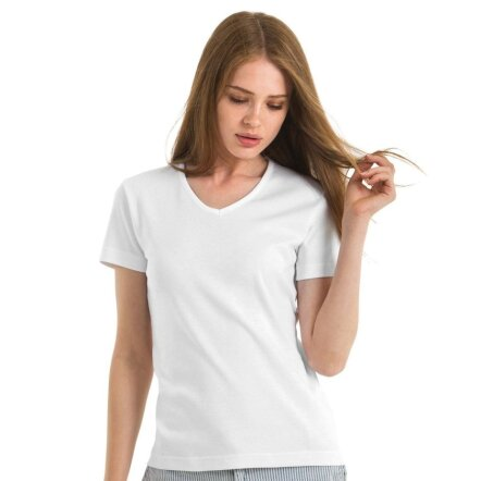 Ladies` Tee V-Neck - TW102
