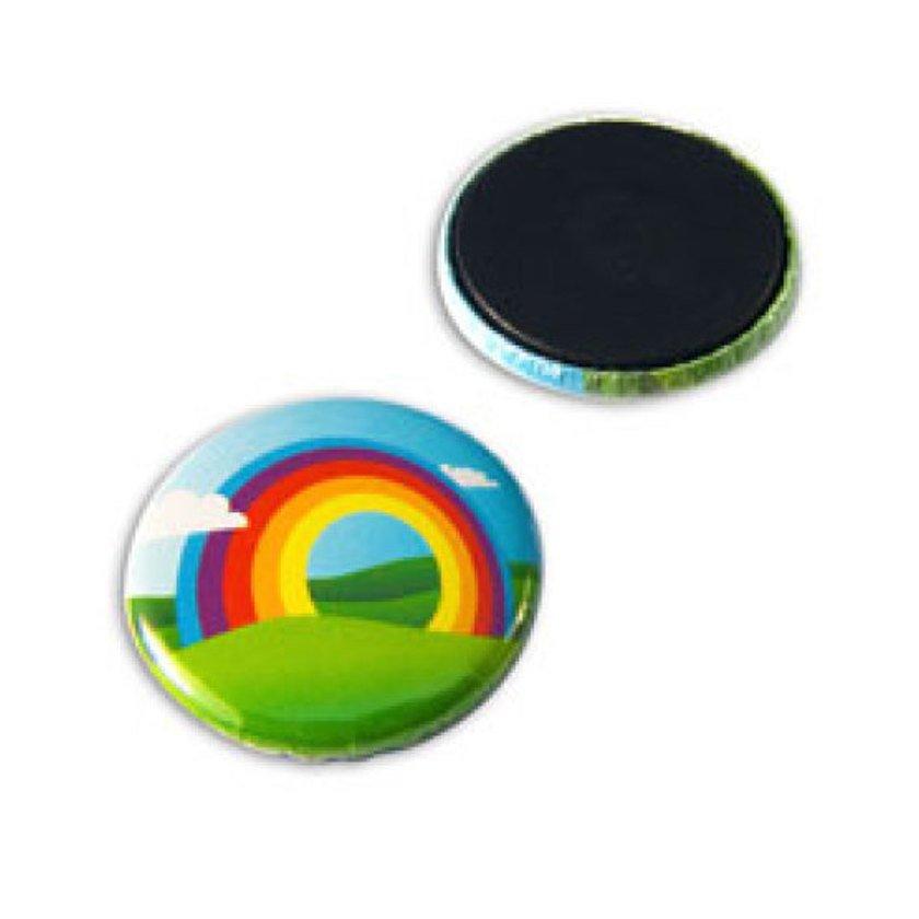Afbeelding van 1000 st. Button 25 mm magneet bedrukken