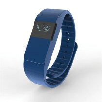Activity tracker Keep fit, donkerblauw