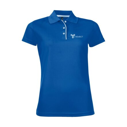 Color Sol's Cricket Polo dames bedrukken