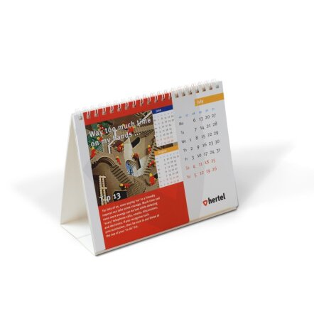 Bureau kalender 120 x 170 8 bladen for Bureau kalender