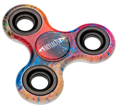 Fidget Spinner Full Color